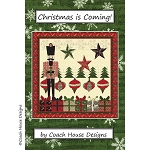 Christmas is Coming Nutcracker Quilt Pattern CHD1233