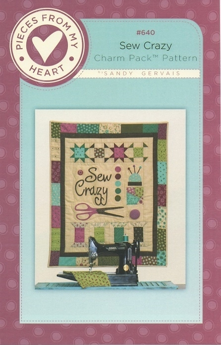 Sew Crazy Wall Hanging Pattern PH640