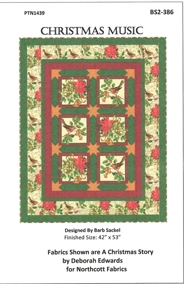 Christmas Music Pattern PTN1439