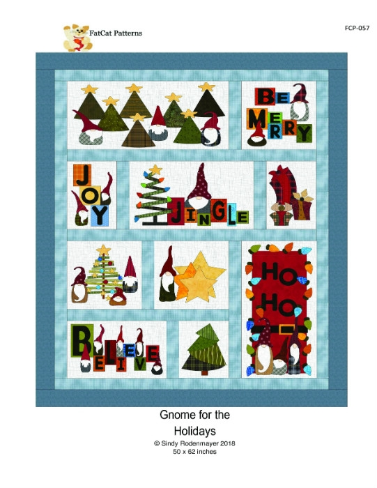 Gnome for the Holidays Pattern FCP-057