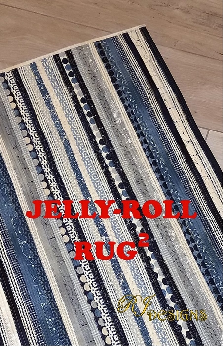 Jelly Roll Rug (rectangle) RJD120