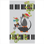 Santa Claws Applique Quilt with Garland Kit  UE-SCKit