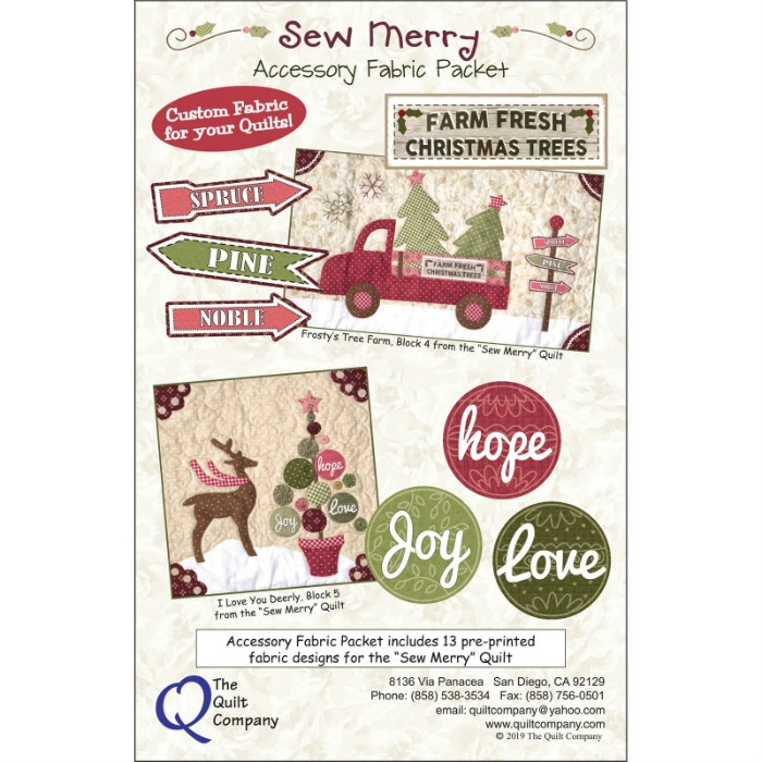 Sew Merry Accessory Pack THQMerry107