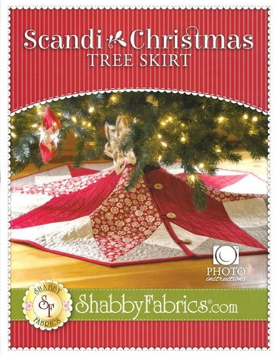 Scandi Christmas Tree Skirt SF48691