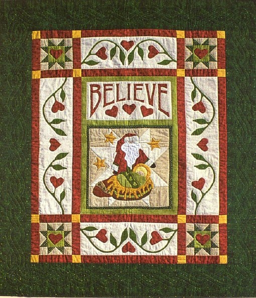 Mama Said: Believe Pattern by Sue Garman