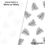 P&B Textiles Holiday Ramblings II RAH2 4218 W (White-on-white)