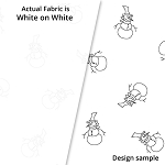 P&B Textiles Holiday Ramblings II RAH2 4222 W (White-on-white)