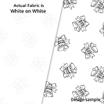 P&B Textiles Holiday Ramblings II RAH2 4223 W (White-on-white)