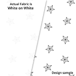 P&B Textiles Holiday Ramblings II RAH2 4224 W (White-on-white)
