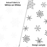 P&B Textiles Holiday Ramblings II RAH2 4226 W (White-on-white)