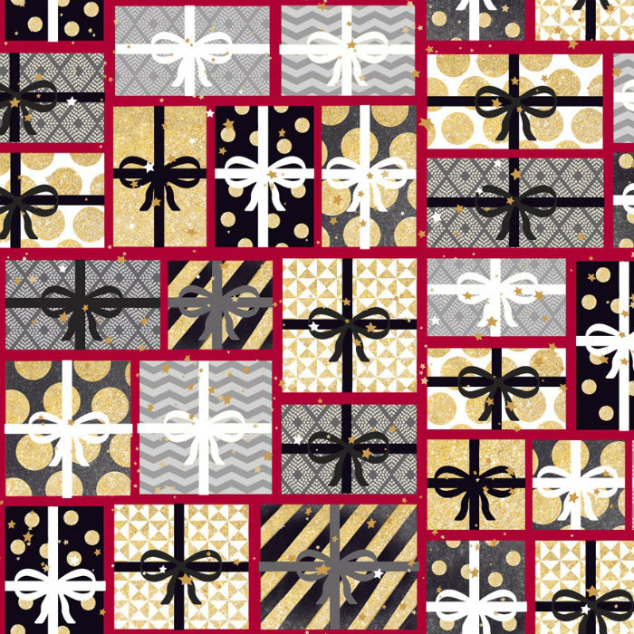 Quilting Treasures All That Glitters 24436-R Red