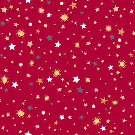 Quilting Treasures All That Glitters 24440-R Red