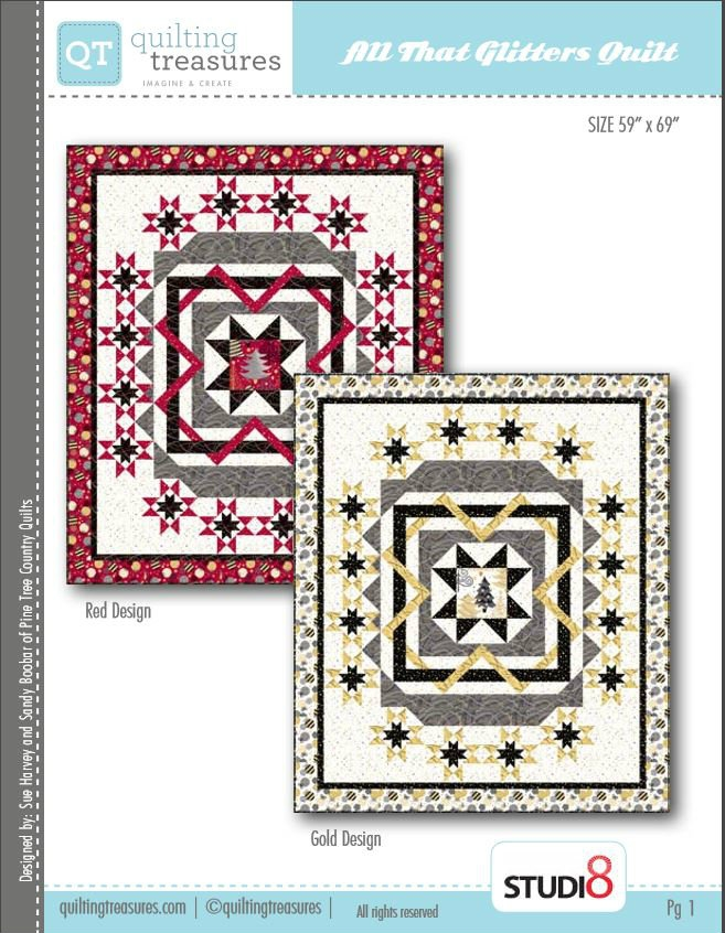 Quilting Treasures All That Glitters Free Pattern