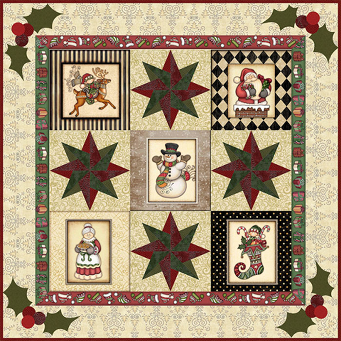 RJR Fabrics Holly Jolly