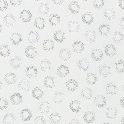Robert Kaufman Sparkle 15755-1 White