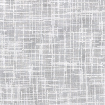 Robert Kaufman Quilters Linen Metallic White