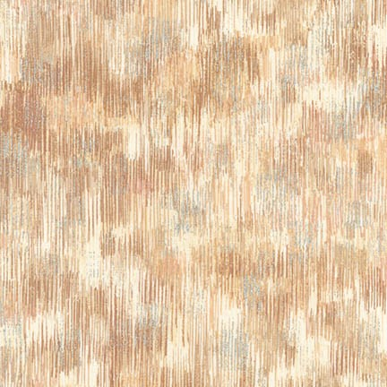 Robert Kaufman Fusions Brushwork Metallic SRKM-18059-158 WHEAT