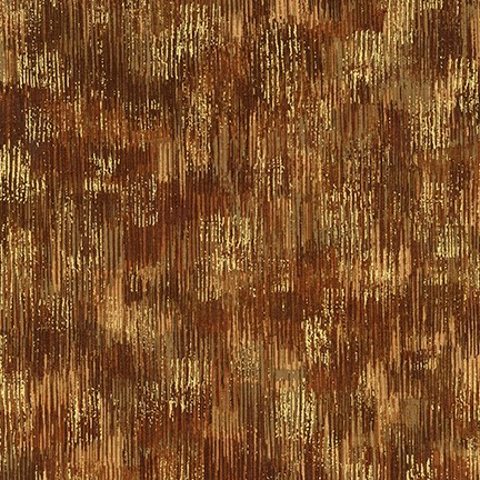 Robert Kaufman Fusions Brushwork Metallic SRKM-18059-16 BROWN