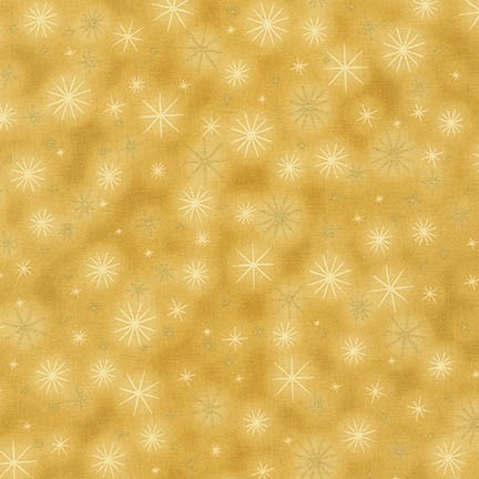 Robert Kaufman Winter's Grandeur 5 16582-133 Gold