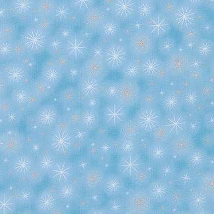Robert Kaufman Winter's Grandeur 5 16582-254 Frost