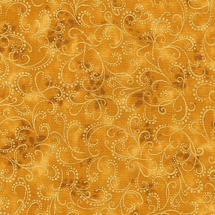 Robert Kaufman Winter's Grandeur 5 16583-133 Gold