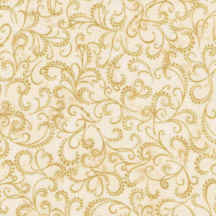 Robert Kaufman Winter's Grandeur 5 16583-15 Ivory