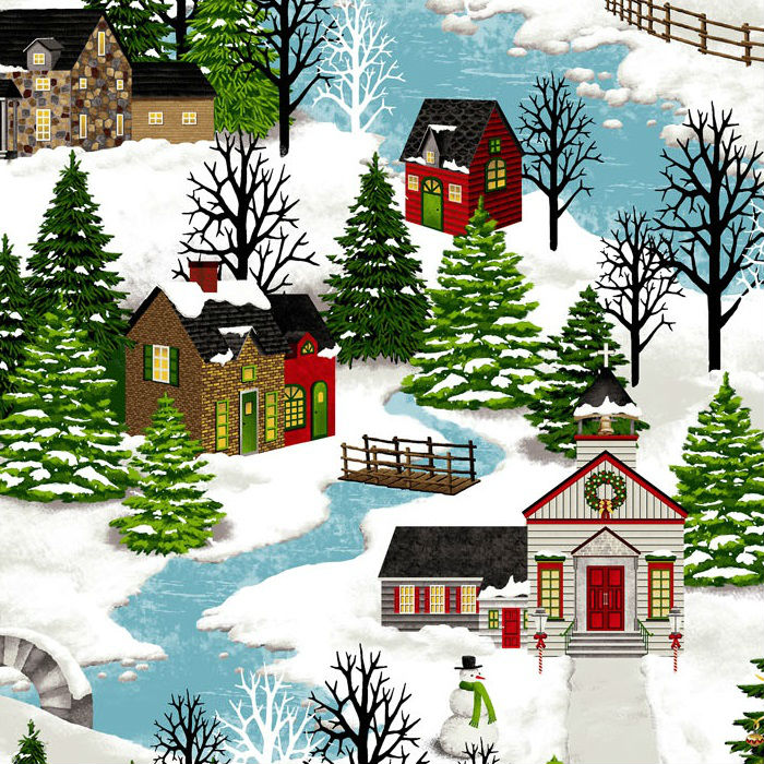 Studio E Christmas Village - Closeout