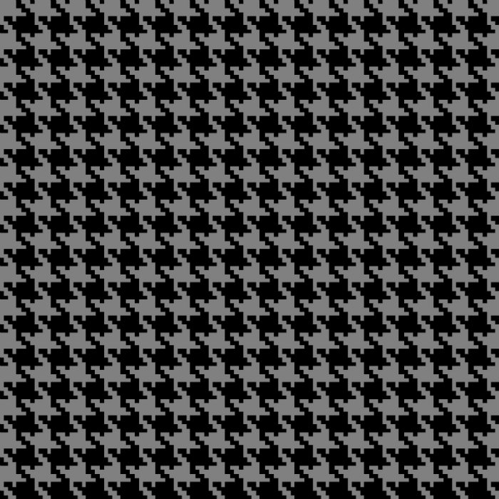 Studio E Midwinter Song 5140-99 Black Houndstooth