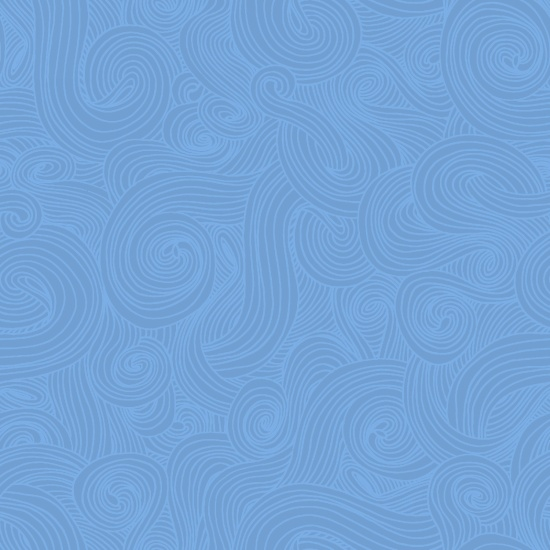 Studio E Just Color Swirl 1351-Chambray