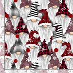 Timeless Treasures Gnomes and Holidays Gail-C8223 MULTI
