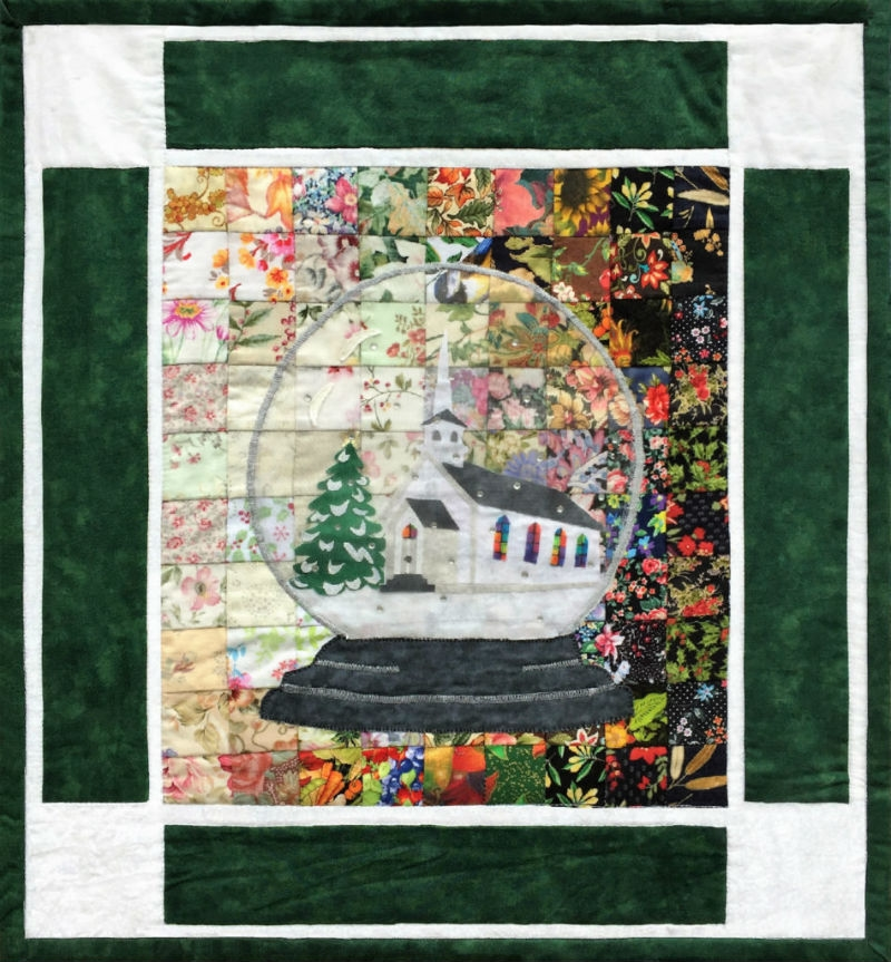 Whims Watercolor Quilt Kits Snow Globe