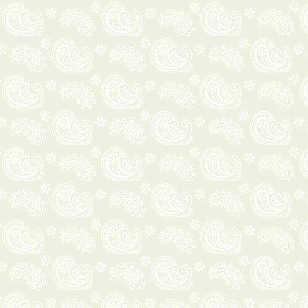 Wilmington Prints Cookie Dough Essentials Paisley Toss 39085-111 Cream