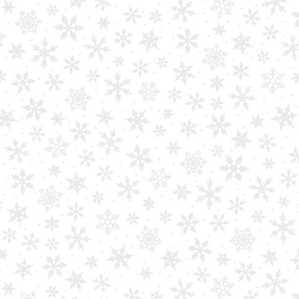Wilmington Prints Snowflake Toss - Closeout