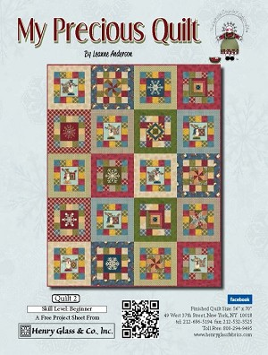 Henry Glass My Precious Quilt Free Quilt Pattern