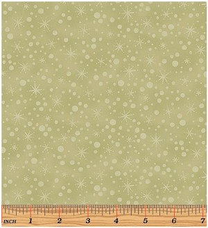 Benartex Winter Wonderland 2272-04 Light Sage