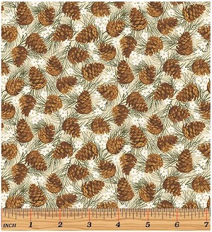 Benartex Winter Wonderland 4653-70 Natural