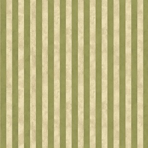 Benartex Winterberry Textured Stripe Green/Cream 9647-41
