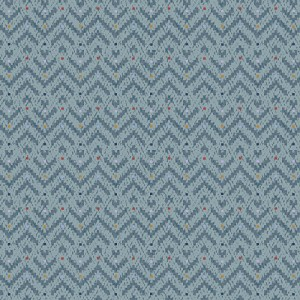 Benartex Evening Frost 9656-04 Chevron Light Teal