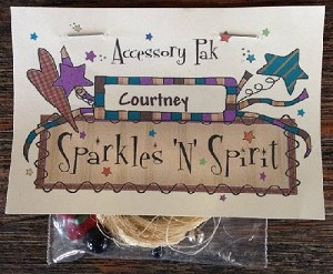 Sparkles 'n' Spirit Courtney Accessory Pack