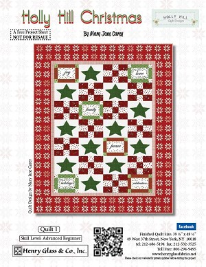 Henry Glass Christmas Quilt Free Pattern