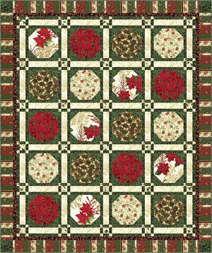 Hoffman Berries and Blooms Free Quilt Pattern