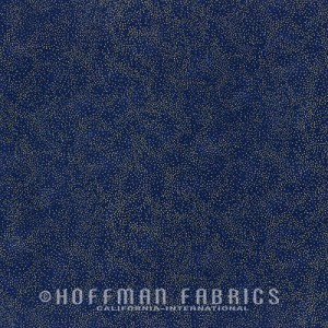Hoffman Brilliant Blenders Navy/Gold G8555-19G