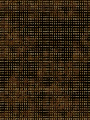 In the Beginning Fabrics Dit-Dot Brown 8AH18