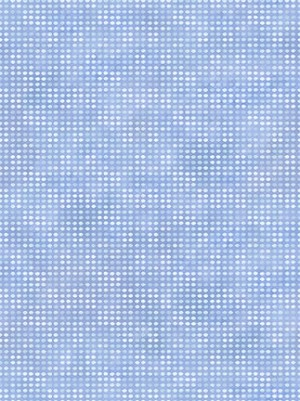 In the Beginning Fabrics Dit-Dot Periwinkle 8AH21
