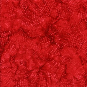 Island Batik Season's Splendor BE23-C1 Wavy Dots-Cherry