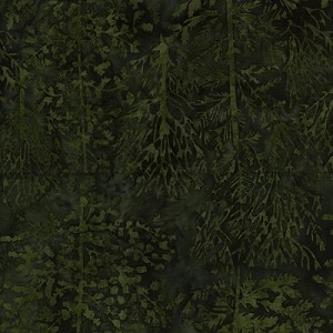 Island Batik Holiday Evergreen HS14C-A1
