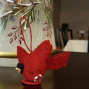 Cardinal Ornament/Pin Cushion Kit BBCardinalKit