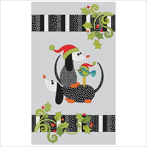 Santa Babies Applique Quilt with Garland Kit  UE-SBKit