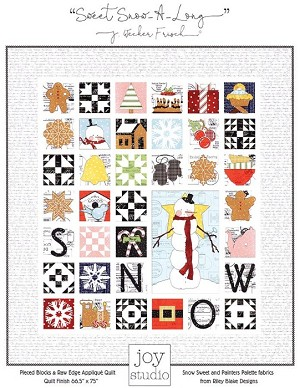 The Sweet Snow Along Quilt Pattern P149