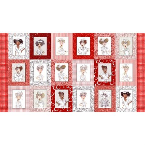 Loralie Designs Nifty Nurses Panel LOD691-797
